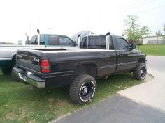 Dodge Ram Diesel Trucks with Stacks   Eric's 2500 diesel with dual stacks appears on Dave Tinker's gallery