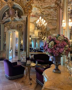 Room Goals, Art Base, Royal Palace, Pink Aesthetic, Blue Flowers, Sweet Home, Villa, Interior Design, Architecture