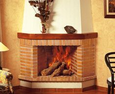 Chimenea rústica Albertville Bbq House, Fireplace Pictures, Chiminea, Wood Burner, Electric Fireplace, Fireplace Design, Living Room Designs, Sweet Home, House Design