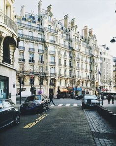 Streets of Paris.