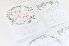 Soft and romantic  the Elyse suite is definitely one of my favorites.  Add to that the custom hand lettering by one of my favorite people @amandaarneill and you really just can't go wrong. [ : Adrienne Hulme @bluelily52 ]