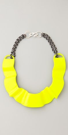 Neon Choker Necklace