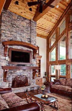 Custom Timber Frame Homes, Hybrid Timber Frame Homes & Luxury Timber Frame Homes - Wisconsin Log Homes