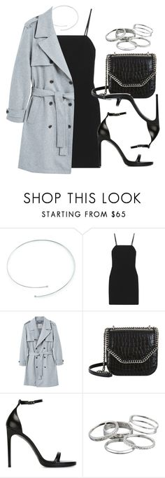 """Sin título #13714"" by vany-alvarado ❤ liked on Polyvore featuring Elsa Peretti, Elizabeth and James, MANGO MAN, STELLA McCARTNEY, Yves Saint Laurent and Kendra Scott"