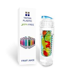 Sport Water Bottle with Fruit Infuser 27oz Blue *** Continue to the product at the image link.Note:It is affiliate link to Amazon.