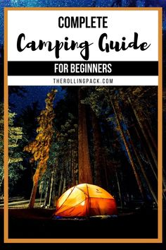 How to go camping successfully! In this complete guide I'll share the best camping gear, campsite recommendations, camping food ideas, and plenty of camping hacks to make your camping trip a blast! PLUS a free printable camping checklist! #camping #campingguide #campingforbeginners #camperlife #campinghacks #campinggear #campingfood Best Camping Gear, Camping Guide, Camping Checklist, Camping Meals, Go Camping, Camping Hacks, Camper Life, Truck Camper, Rv Life