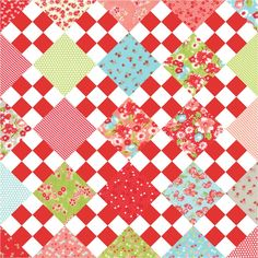 9 On Point Mini Quilt pattern