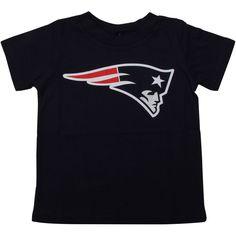 Toddler New England Patriots Navy Blue Team Logo T-Shirt