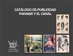 Catalogo de publicidad de Panamá y el Canal - Disponible en Weil Art