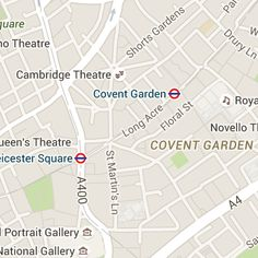 Aldwych Theatre London map, address and directions