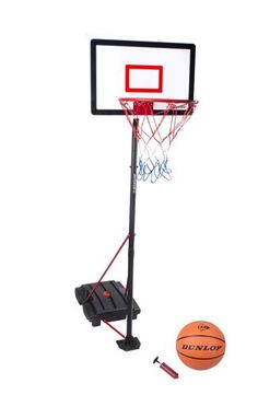 Dunlop 3 Piece Basketball with Portable Stand andamp 3 Piece, Basketball, Stuff To Buy, Pump, January, Shopping, Baskets, Sports, Pump Shoes