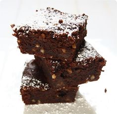 Freestyle vegan Chocolate-Brownies