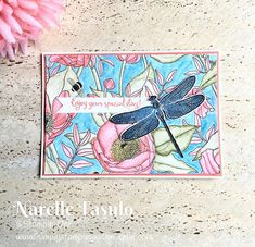 Stampin' Up! Inside The Lines DSP & Dragonfly Dreams - Simply Stamping with Narelle Hand Made Greeting Cards, Making Greeting Cards, Best Wishes Card, Simply Stamps, Bee Cards, Butterfly Cards, Flower Cards, Scrapbook Cards, Scrapbooking