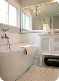 #badkamer #inspiratie #vrijstaand #bad #sfeer #ligbad