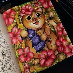 Instagram Adult Coloring, Coloring Books, Coloring Pages, Markova, Calligraphy Alphabet, Fairy, Sketches, Celebrations, Colour Therapy