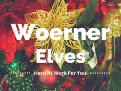 Our #Christmas elves are very busy helping shoppers in our #Woerner #holiday #market!