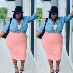 Chubby Girl Fashion, Black Girl Fashion, Curvy Women Fashion, Church Outfits, Night Outfits, Plus Size Fashion Tips, Plus Size Outfits, Dressy Casual Outfits, Cute Outfits