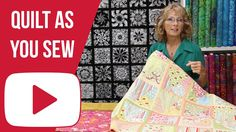 """In this tutorial Marie talks about the """"Quilt As You Sew"""" technique. To find out more or purchase a quilting kit or pattern, please visit redhartquilts.com L..."""