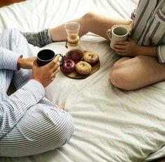 sweet pajama mornings ^^