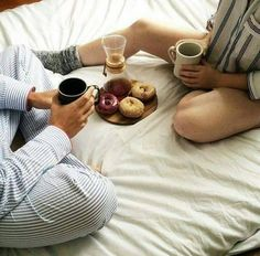 sweet pajama mornings ^^
