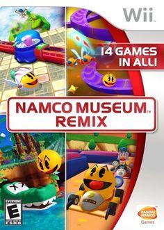 Namco Museum Remix - Nintendo Wii by Namco @ niftywarehouse.com #NiftyWarehouse #PacMan #VideoGames #Pac-man #Arcade #Classic