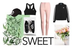 """""""˙ MY ADIDAS LOVE ˙"""" by sarapucelj ❤ liked on Polyvore featuring beauty, adidas Originals and adidas"""
