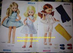 Catalogo Milly Z&Z 03 Doll Toys, Dolls, Vintage Barbie, Aurora Sleeping Beauty, Summer Dresses, Disney Princess, Disney Characters, Clothes, Fashion