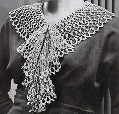 Cluster Collar and Jabot Pattern #2003