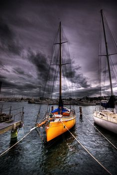 Yellow Boat by Jamie Walhouse on Flickr