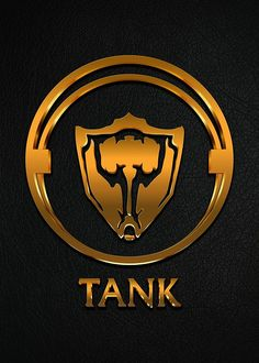 League of Legends TANK [gold emblem] by Naumovski
