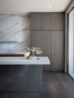 Kitchen   Rose Park Residence Kitchen by Williams Burton Leopardi   Est Living   Interiors, Architecture, Designers & Products Exterior Design, Interior And Exterior, Rammed Earth Homes, Timber Kitchen, Charred Wood, Rose Park, Australian Homes, Kitchen Cabinetry, Round Dining Table