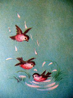 Annie's Blessed Nest: Three Little Birds