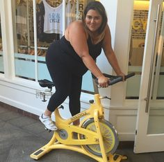 Lola girls love to move. @marcyguevara loves @Soul Cycle in her Lola Getts!
