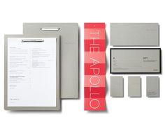 The Apollo Restaurant by Ascender Design , via Behance