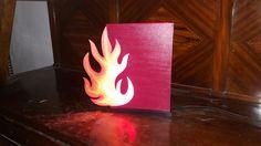 Fuego lamp