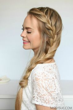 side-french-braid-with-extensions