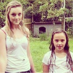 I miss having mud fights haha! @Perrie Edwards , you're my best friend! We've made so many memories that I will never forget. You are the best sister in the world and you're my idol and I will always look up to you because I love you! I know you can't be here with me right now to give me a shoulder to cry on but that's not your fault! You're just following your dreams and you're busy a lot and I understand. Please never think you failed me