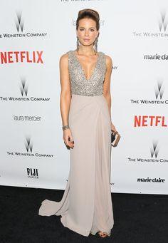 Pin for Later: Les 65 Tenues les Plus Glamour Jamais Vues aux Golden Globes Kate Beckinsale, 2015