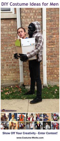 Gorilla Carrying Human - tons of creative DIY costume ideas!