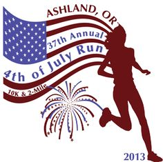 The Ashland Parks & Recreation Department presented the 37th annual 4th of July Run. The event is a fundraiser for the Ashland and Phoenix High School cross country teams.Two routes are offered:  a 10K run (6.2-mile) and the traditional 2-mile run/walk. Both races will have the same start time at 7:45 a.m. The routes are scenic and on closed roadways. A section of the 10K route is along the tree-lined Bear Creek Greenway.