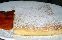 Tejpite baracklekvárral I Want To Eat, Tiramisu, Panna Cotta, Cheesecake, Food And Drink, Sweets, Ethnic Recipes, Dulce De Leche, Gummi Candy