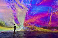 Tomas Saraceno iridescent art