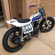 Honda XL250 Flat Tracker Motorcycle