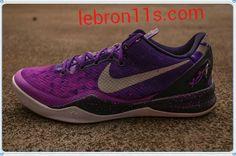 Lebron11s.com Wholesale Cheap Kobe Bryant 8 System Court Purple Pure Platinum Blackened Blue Laser Purple 555035 500 Discount To $62.26