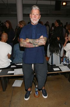 Nick Wooster Photos: Baja East- Front Row - Spring 2016 MADE Fashion Week