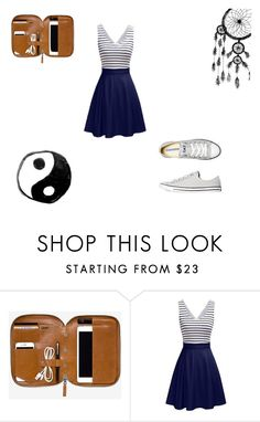 """""""Simple 4"""" by vaug7168 ❤ liked on Polyvore featuring Converse"""