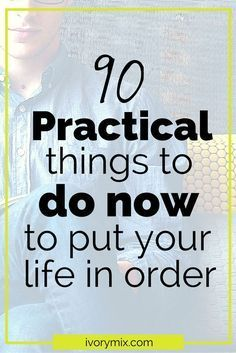 """Sometimes it is hard to put all the effort we want into each area of our lives, so we tend to put things off and say """"I'll start it tomorrow"""" Or next week, or even in the New year…"""