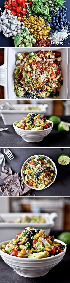 Summertime Chopped Salad - Food Story