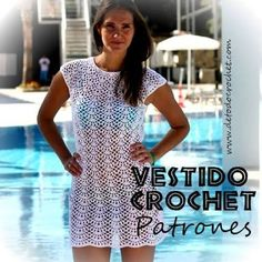 Resultado de imagen para patrones de vestidos para dama tejidos a crochet para el verano paso a paso en español