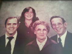 Dale, Joy, Larry and Wren Haren 1978
